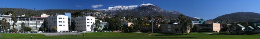 scene of Univ. Tasmania